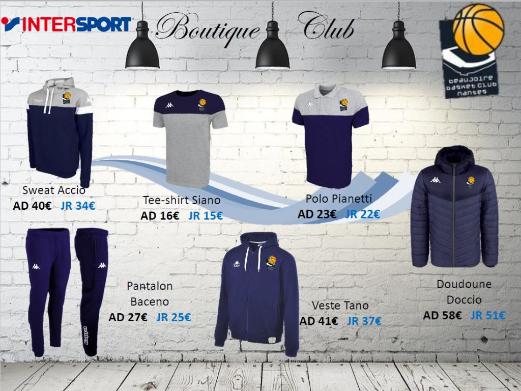 Boutique Beaujoire Basket Club