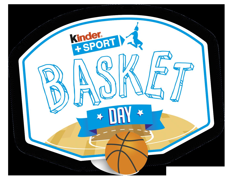 Logo - KINDER + SPORT BASKET DAY